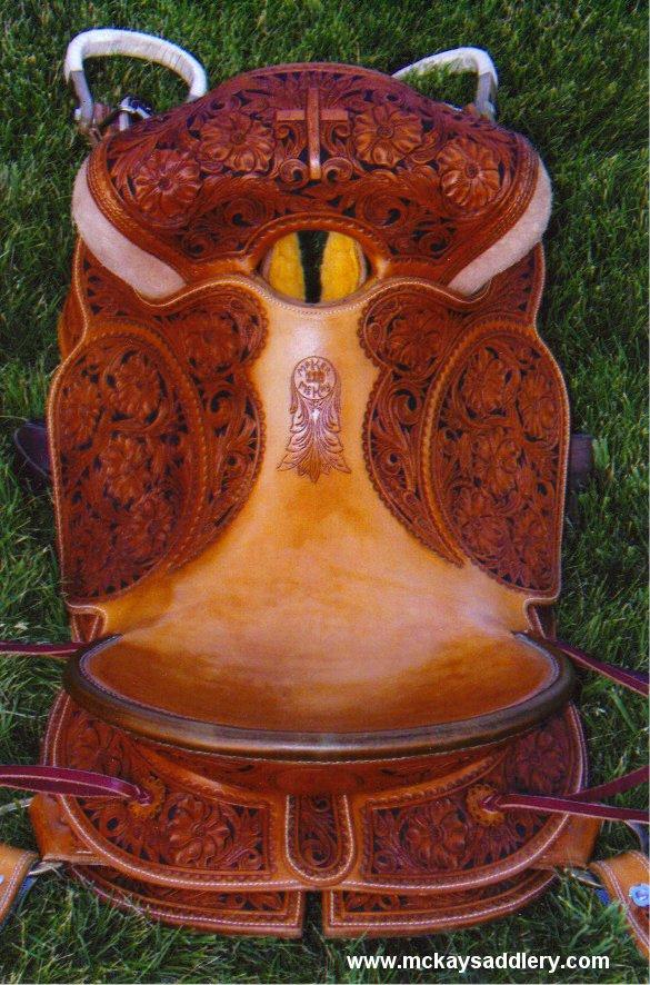 McKay Custom Saddlery Bronc Saddle